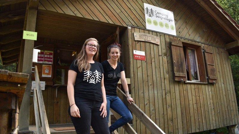 Au camping de Saignelégier, le staff travaille sans relâche