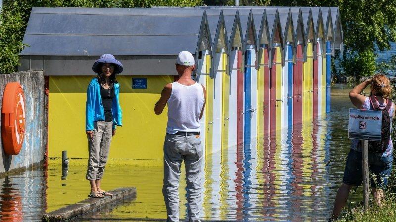 Crue à Neuchâtel: une centaine de lieux inondés, mais une situation «globalement sous contrôle»