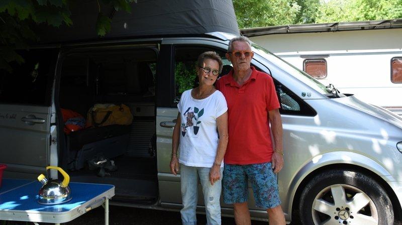 Camping de Cortaillod: sa simplicité séduit les gens de passage