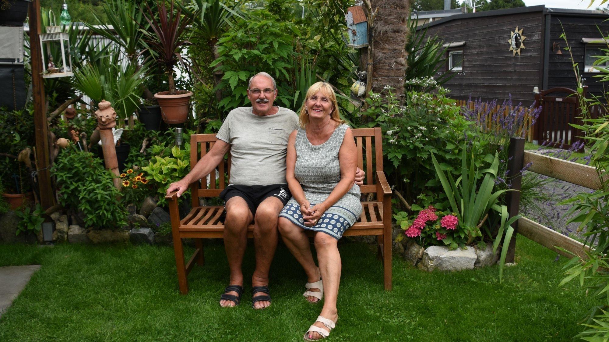 Le Landeron: à la retraite, ils profitent de l'été au camping