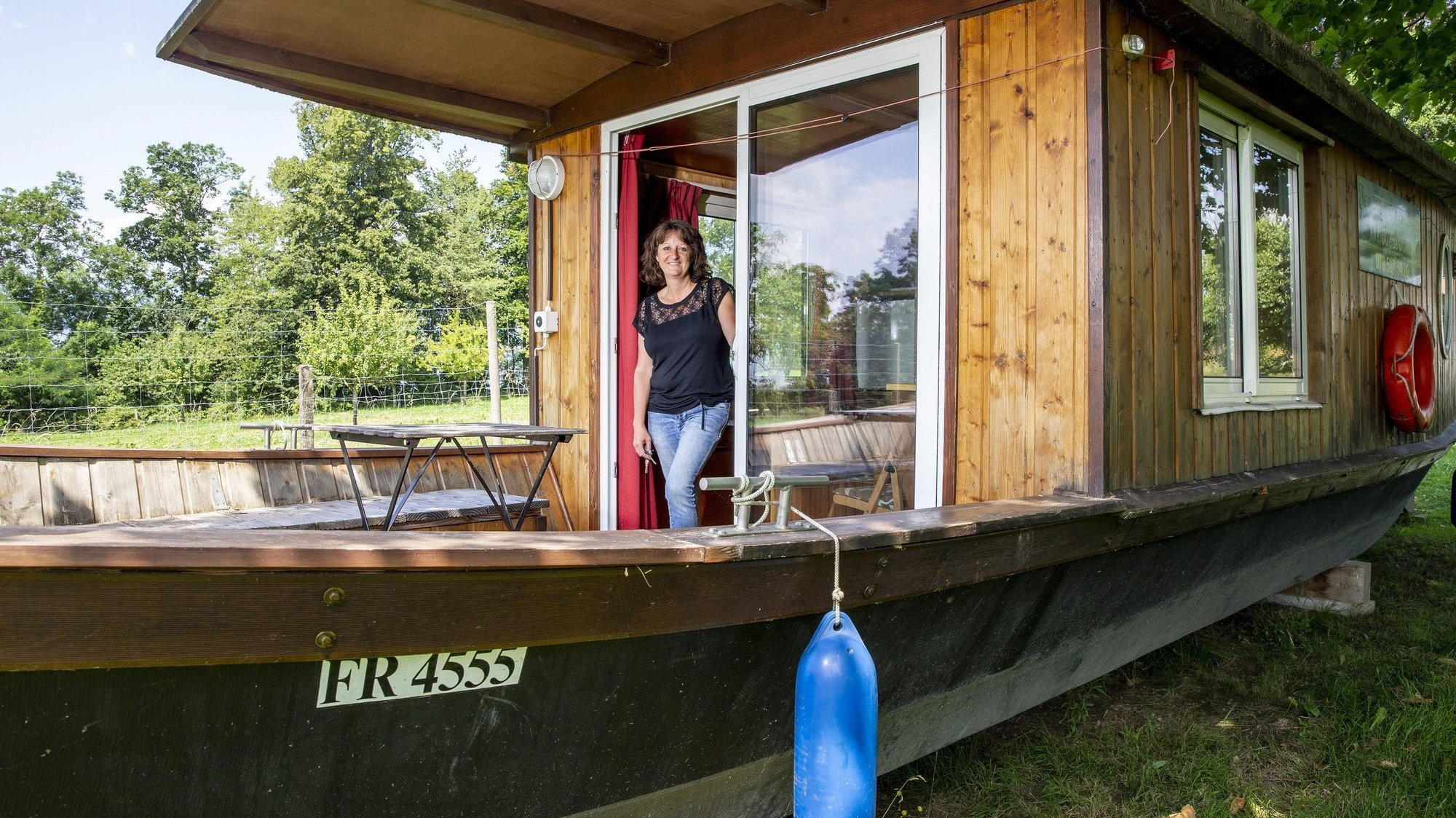 Dormir en péniche à Estavayer-le-Lac