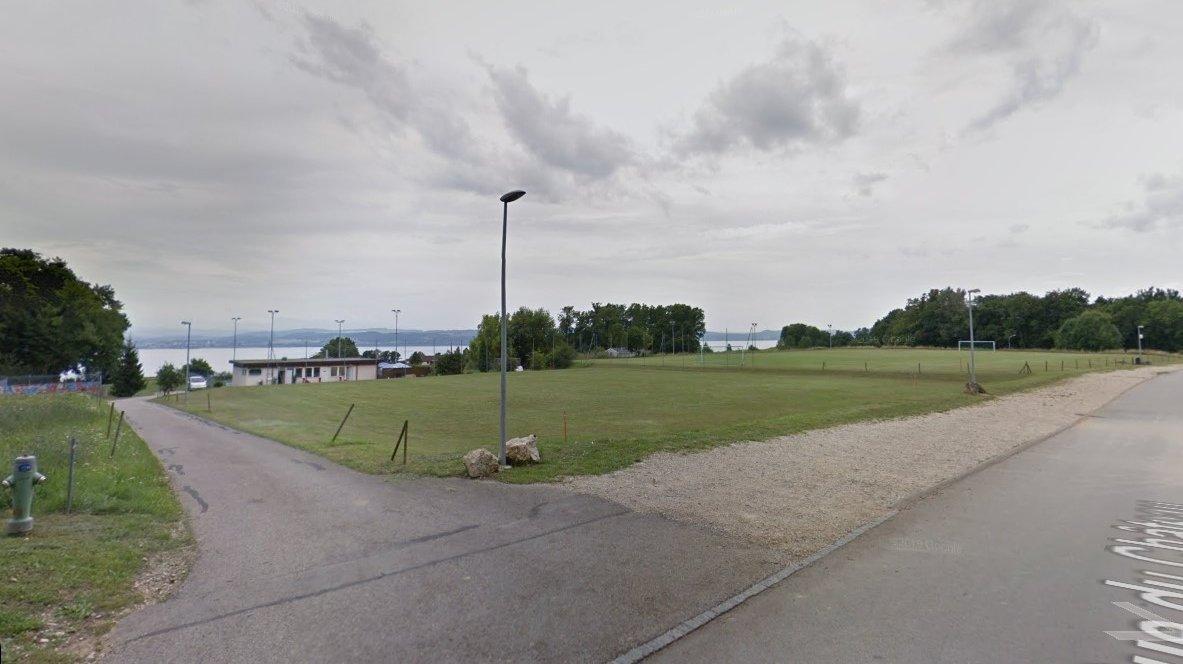 C'est sur ce terrain voisin des installations de foot, de motocross et de tennis qu'aura lieu la fête.