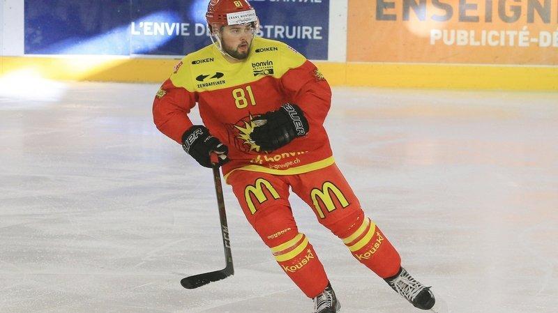 Hockey sur glace: le HC Franches-Montagnes engage Nelo Surdez