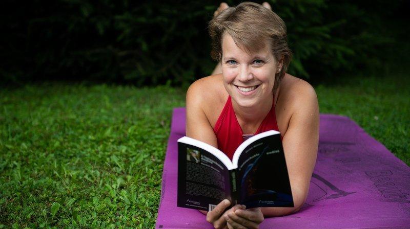 La Jurassienne Rachel Monnat se met (encore) à nu