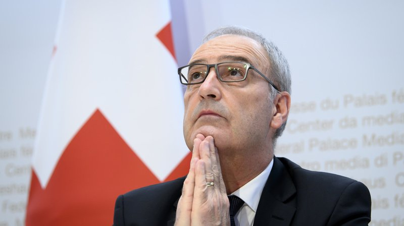 «Les valeurs d'hier sont celles de demain», a déclaré Guy Parmelin à l'occasion de la Fête nationale suisse