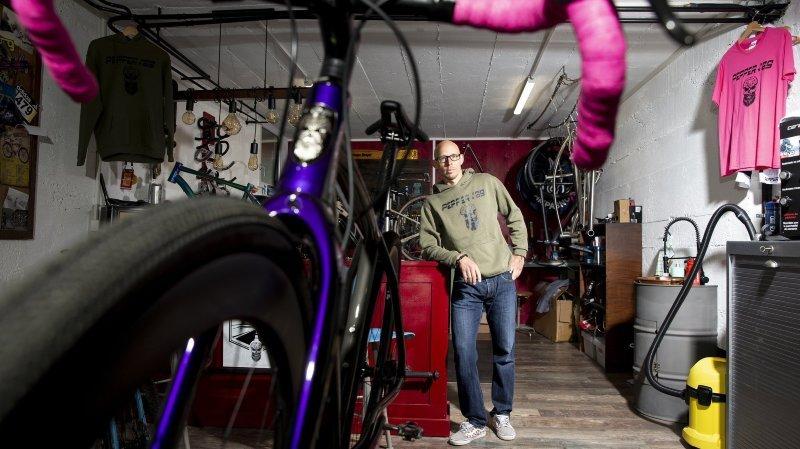 A La Chaux-de-Fonds, les vélos sur mesure d'un bijoutier reconverti