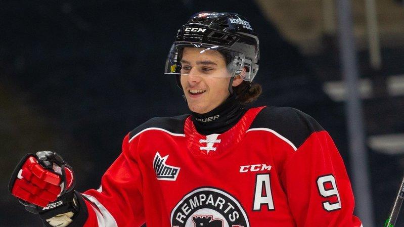 Le Neuchâtelois Théo Rochette en stage avec les Toronto Maple Leafs