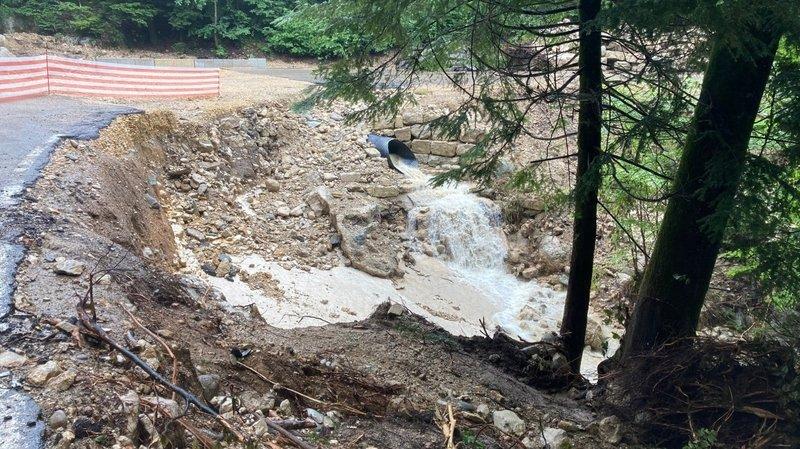 La route cantonale entre Frochaux et Lignières sera fermée jusqu'à mi-septembre