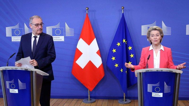 Le Conseil fédéral veut débloquer le deuxième milliard de cohésion destiné à l'UE