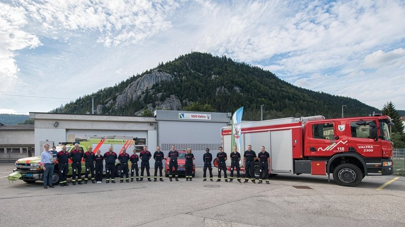 L'incorporation des nouveaux membres a eu lieu vendredi dernier à Fleurier.