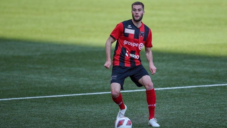 Yoan Epitaux a joué 15 rencontres de Challenge League la saison dernière.