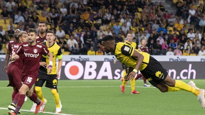 Football – Ligue des champions: Young Boys s'impose face à Cluj et se qualifie pour les barrages