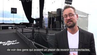 """Mathieu Jaton: """"On avait tellement envie de ce retour au live"""""""
