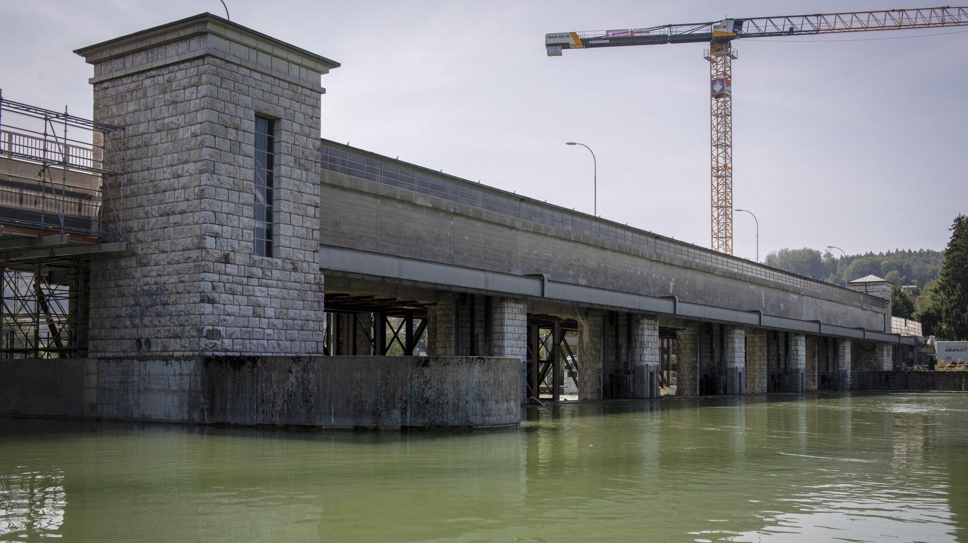 Le débit ne sera pas augmenté à la sortie du lac de Bienne