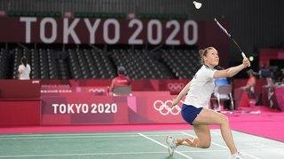 «J'ai dû jouer avec le frein à main», regrette Sabrina Jaquet après sa défaite à Tokyo