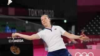 Badminton: Sabrina Jaquet termine sa carrière par une défaite à Tokyo
