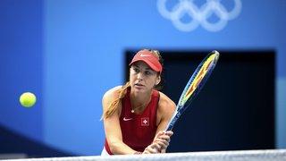 JO 2021 - Tennis: Belinda Bencic assurée de remporter une médaille
