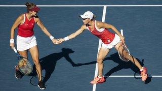 JO 2021 – Tennis double dames: Belinda Bencic et Viktorija Golubic décrochent l'argent