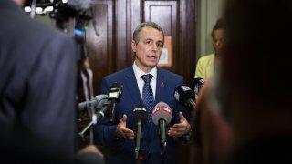 Ignazio Cassis s'exprime sur la situation en Afghanistan