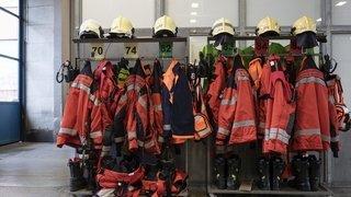 Intempéries: les pompiers sont au front, mais leur nombre ne cesse de baisser
