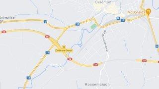 Jura: quatre blessés, dont deux graves après un contresens sur l'A16