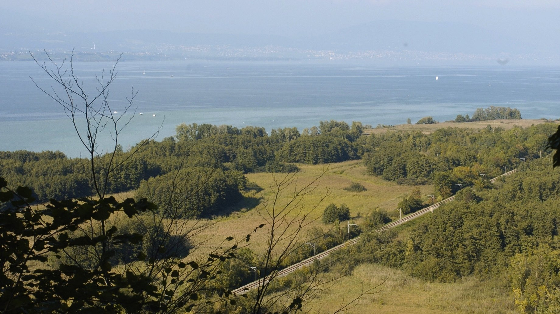 Le réaménagement de la rive sud du lac de Neuchâtel en bonne voie