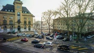 Un motard renversé au centre de Neuchâtel
