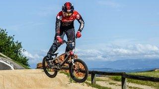 BMX: Kilian Burkhardt au pied du podium des championnats d'Europe
