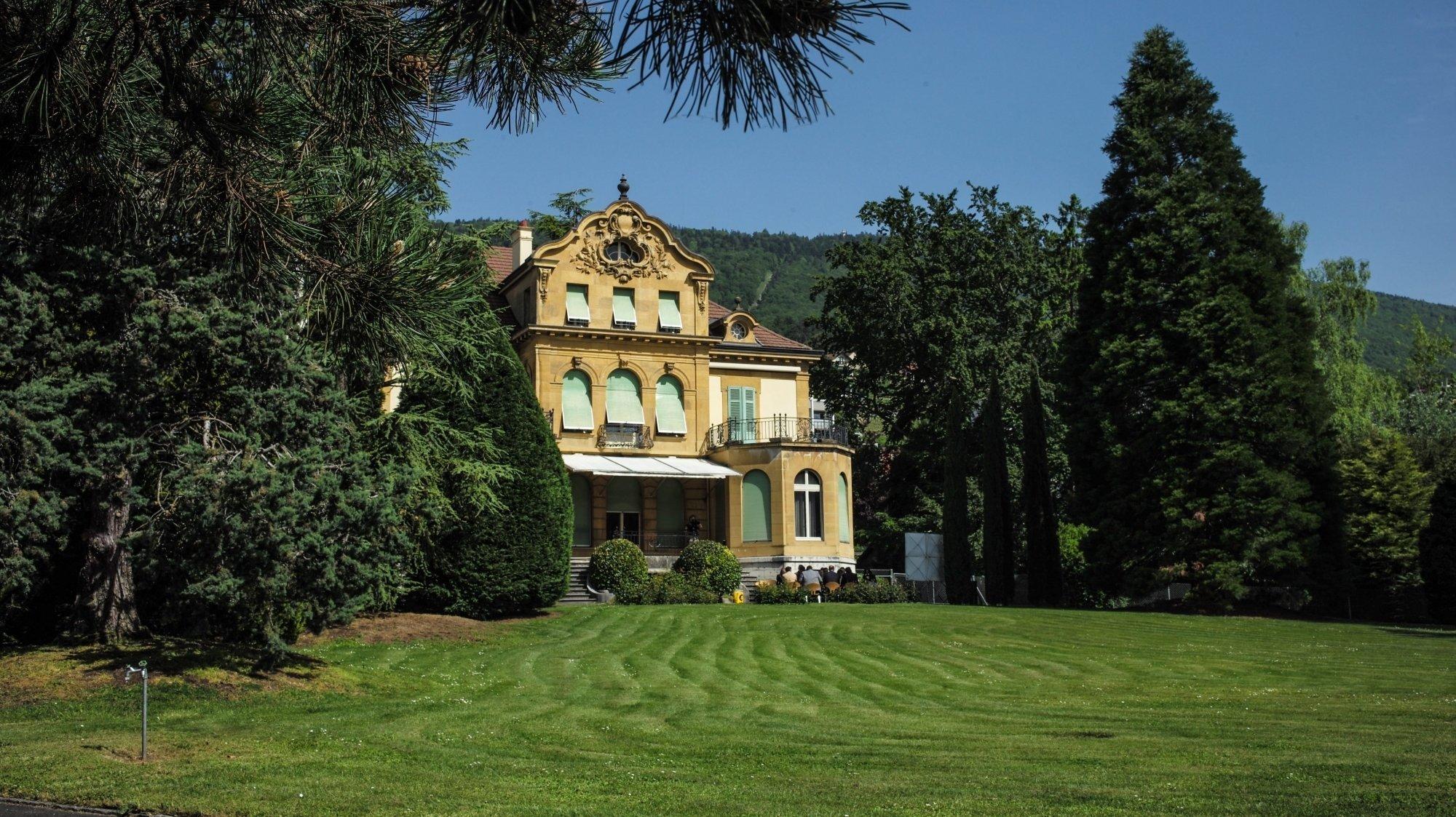 Neuchâtel: la nouvelle vie de la villa Perret débute avec des animations estivales