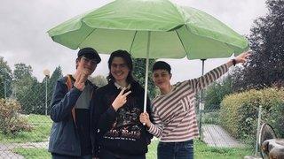 Le camping du Locle quand on a 15 ans et qu'il pleut