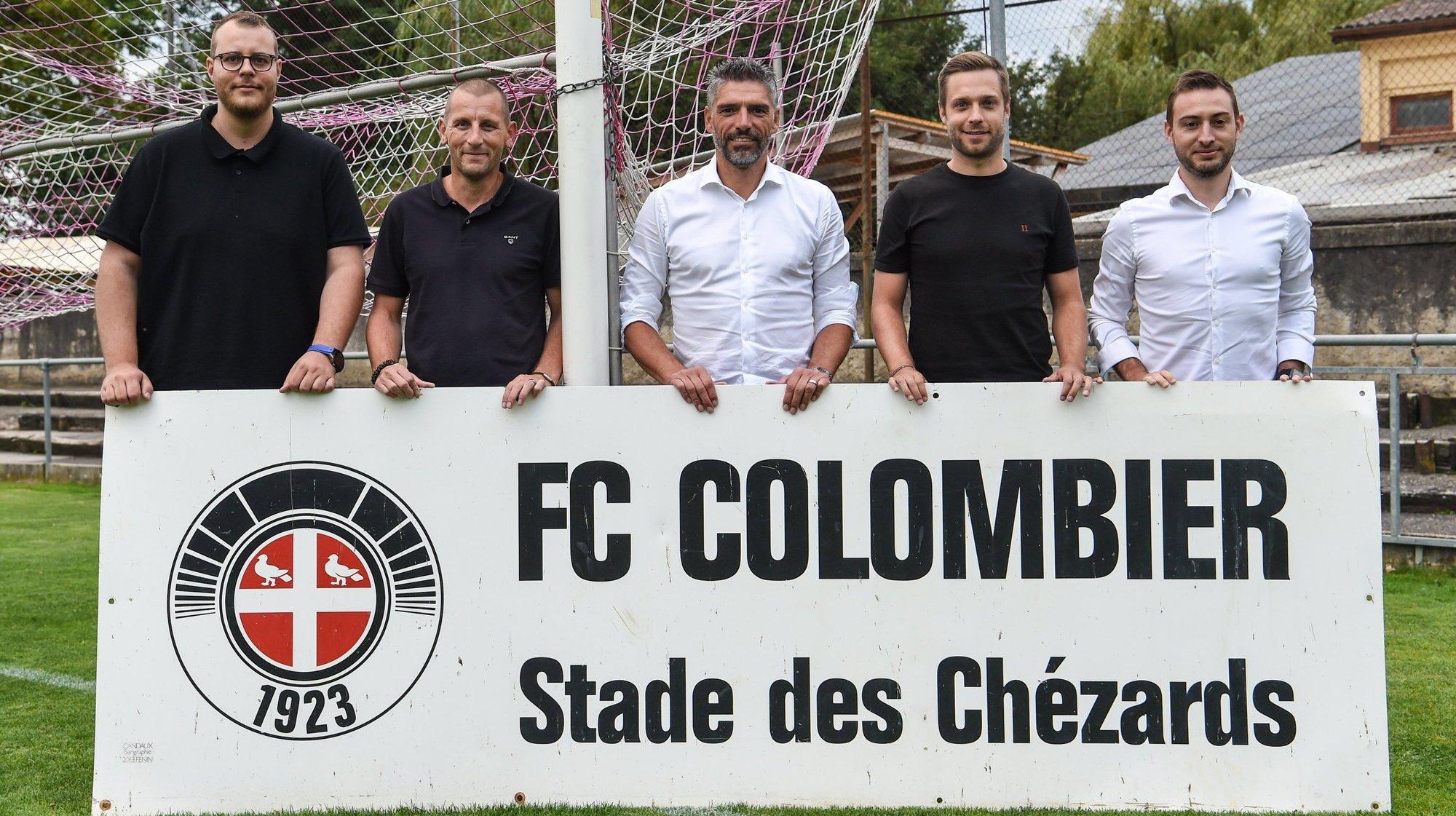 Football: un comité et des joueurs locaux au FC Colombier