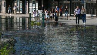 Le lac de Neuchâtel en crue: «La situation est restée sous contrôle»