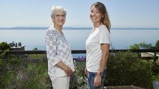 Lac de Neuchâtel: la Traversée Marthe Robert, en hommage à une pionnière