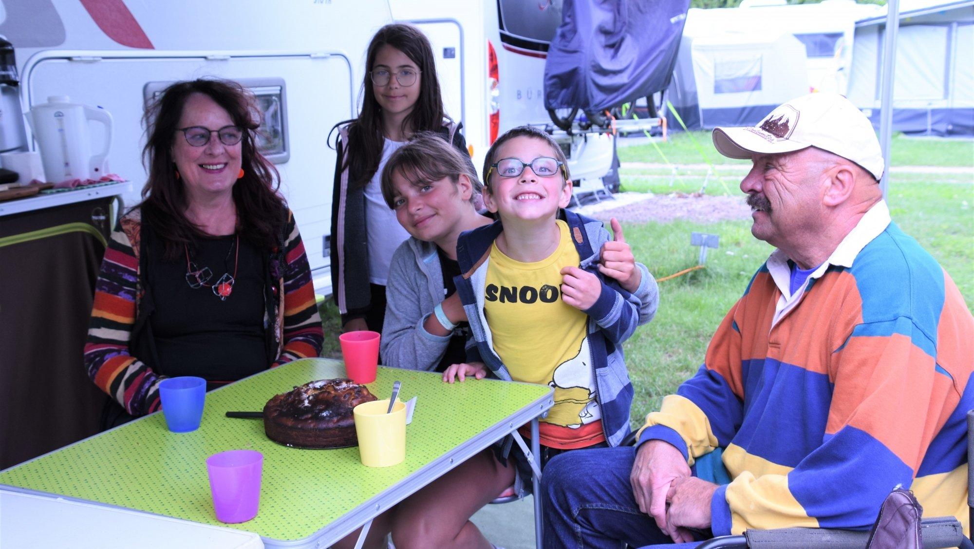 «On se fait des copains» au camping des Pêches du Landeron