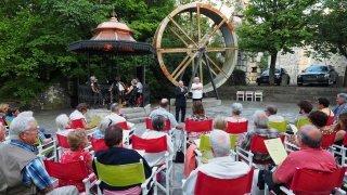 Neuchâtel: des concerts en plein air au Gor du Vauseyon