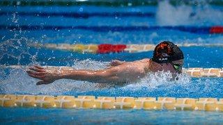 Natation: Ilan Gagnebin 28e sur 50 mètres papillon