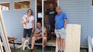 Au camping des Brenets, «la terrasse No8, c'est la famille!»