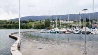 Le lac de Neuchâtel continue de descendre gentiment