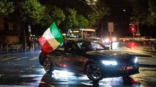 Italie-Espagne: les Neuchâtelois ont fêté la victoire des Azzurri