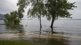 Lac de Neuchâtel: au revoir niveau de crue