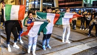 SUPPORTERS ITALIENS 17165