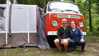 Pour Ursula et Severin, «c'est le chemin qui dicte nos vacances»