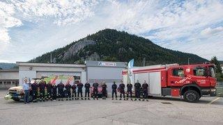 Nouveaux sapeurs-pompiers volontaires au Val-de-Travers