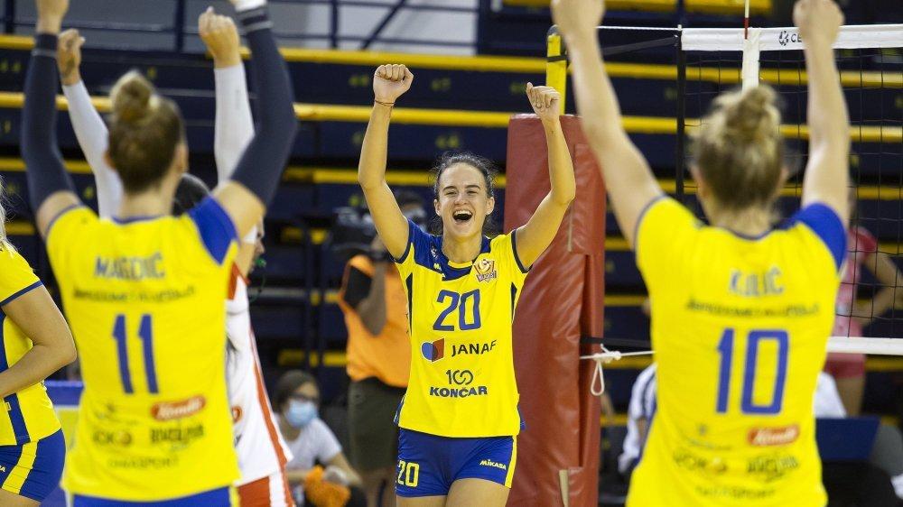 Les joueuses de Mladost Zagreb ne font pas peur à Lauren Bertolacci, coach du NUC.