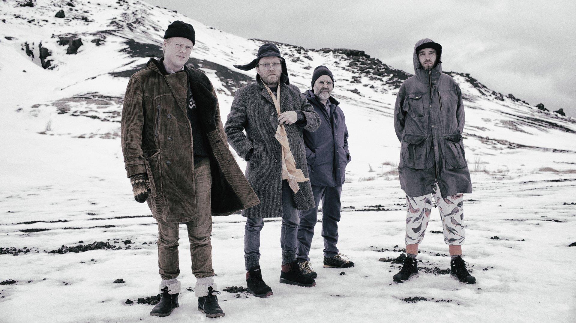Les Islandais de ADHD proposent un jazz teinté de rock et de groove old school.