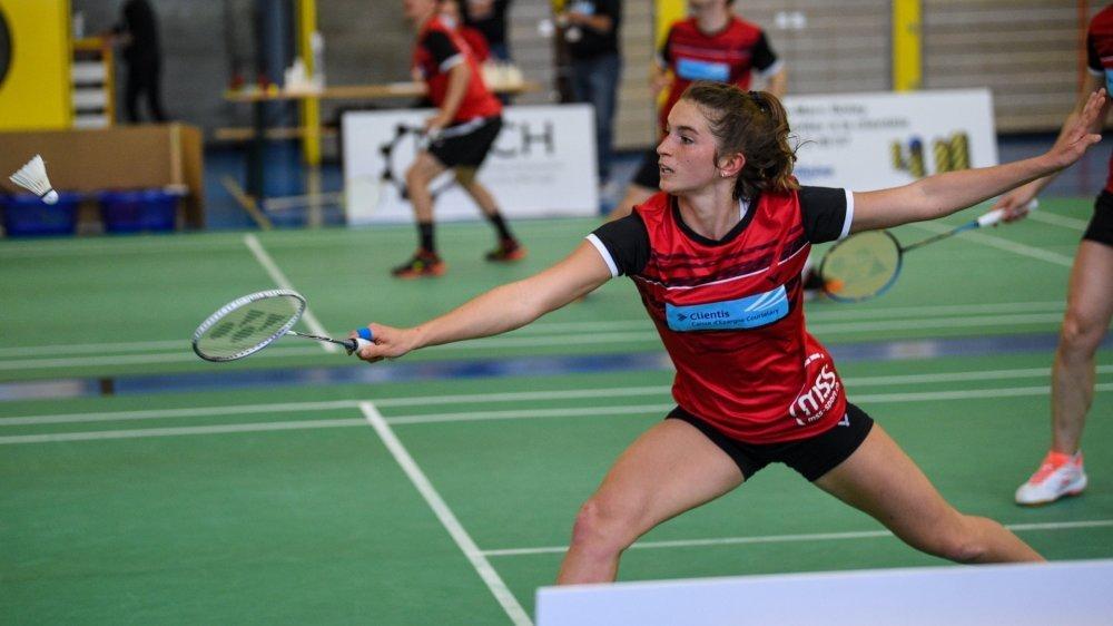 Lucie Amiguet représente un des plus grands espoirs du badminton helvétique.
