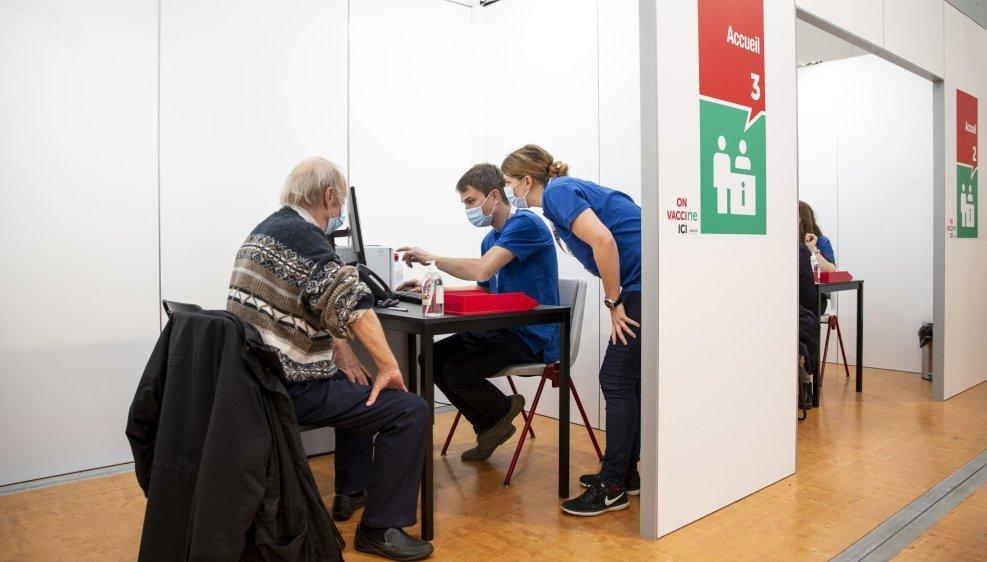 Le centre de vaccination de la Maladière, à Neuchâtel, a été fermé le 13 août dernier.