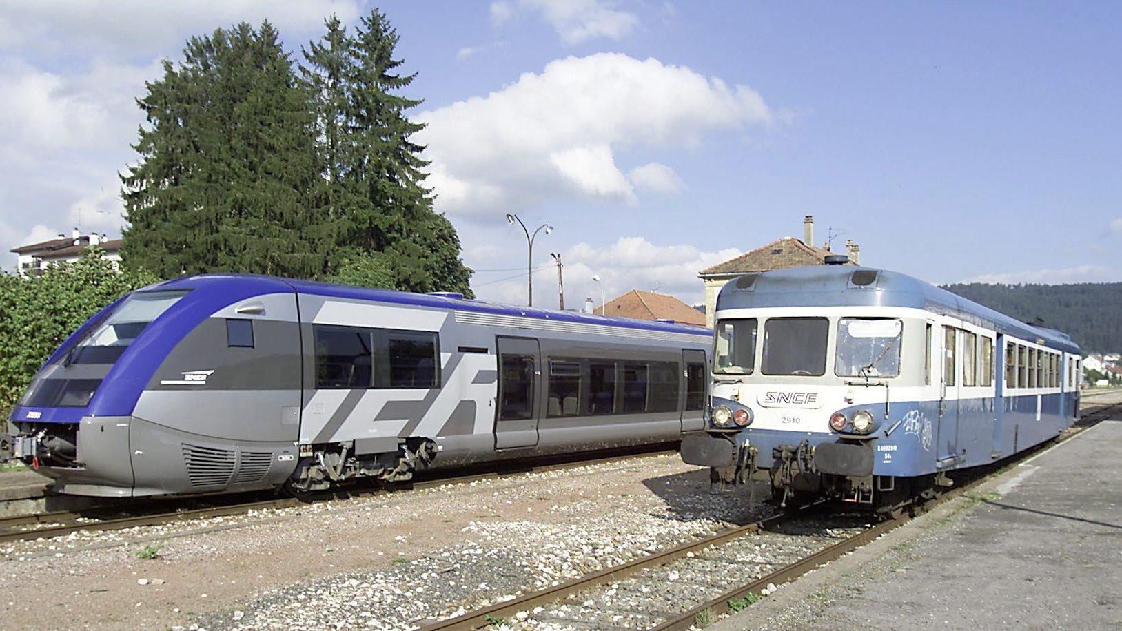 Entrée en fonction au milieu des années 1950 sur la ligne Besançon-Le Locle, la «Micheline» est remplacée par des autorails plus légers en 2001.