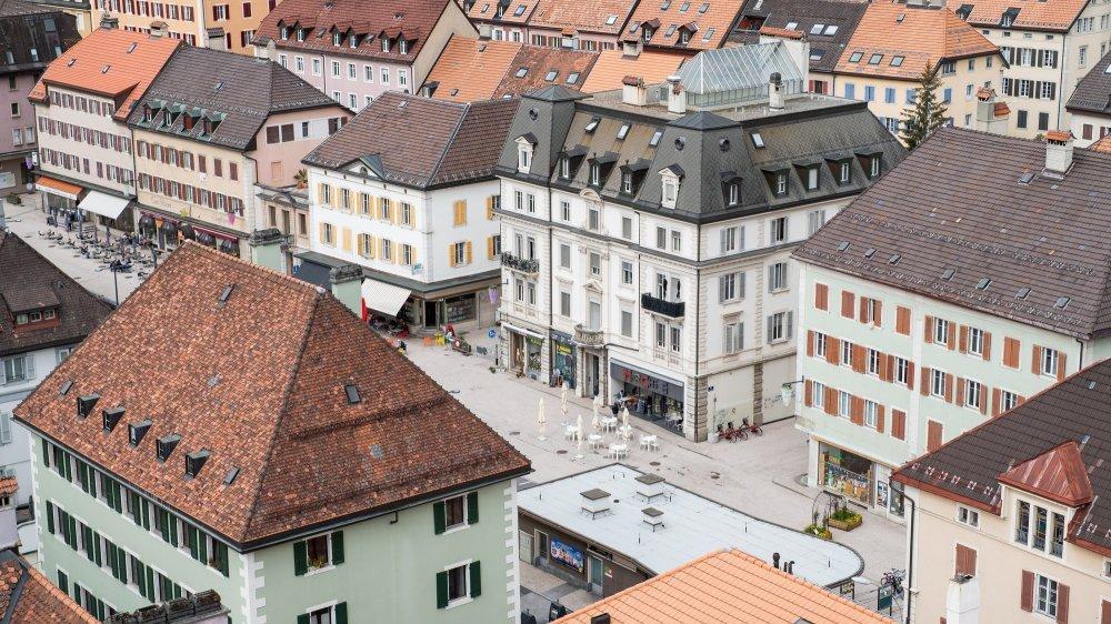 Les travaux de réaménagement de la place du Marché devraient commencer en 2023.