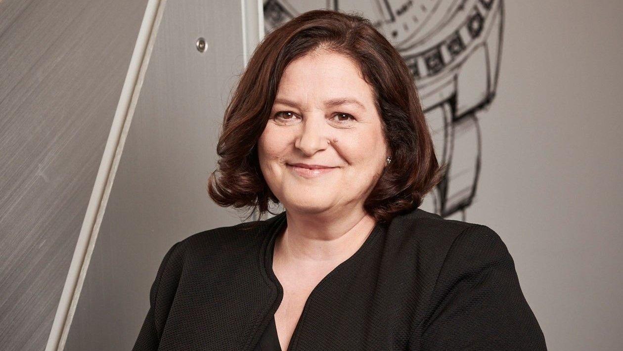 """L'horlogère Carole Kasapi, lauréate du Prix Gaïa 2021 dans la catégorie """"Artisanat-création""""."""